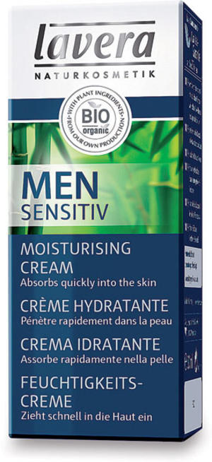 Men sensitiv - crema idratante, Lavera, 30 ml