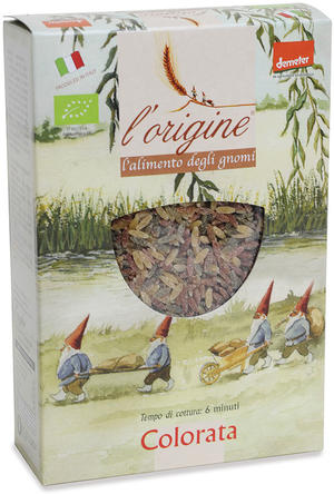 Cereali colorati - semini, L'origine, 250 gr