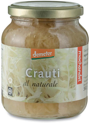 Crauti al naturale, Machandel, 360 gr