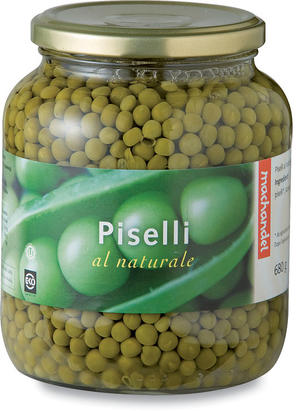 Piselli al naturale, Machandel, 680 gr