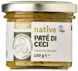 Patè di ceci, Native, 100 gr