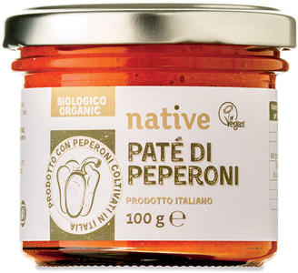 Patè di peperoni, Native, 100 gr
