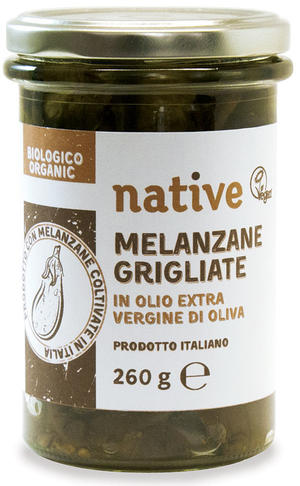 Melanzane grigliate, Native, 285 gr
