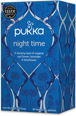 Night time, Pukka, 20 gr