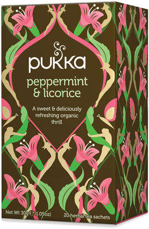 Peppermint licorice, Pukka, 30 gr