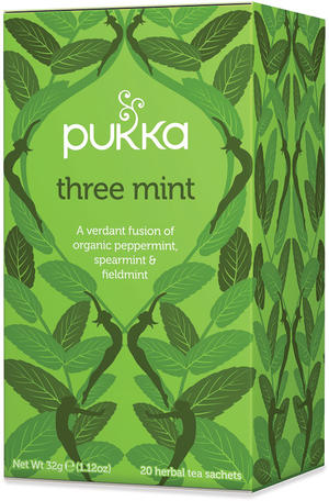 Three mint, Pukka, 32 gr