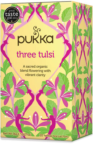 Three tulsi, Pukka, 36 gr
