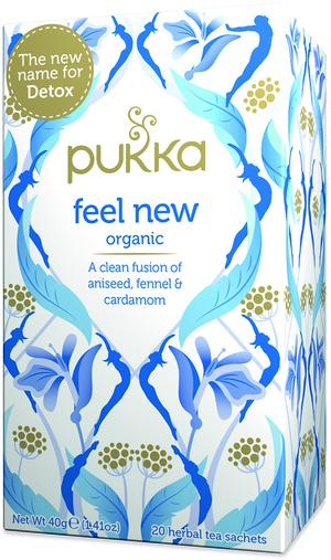 Feel new, Pukka, 40 gr