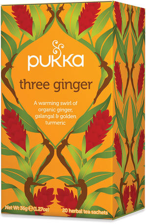 Three ginger, Pukka, 36 gr