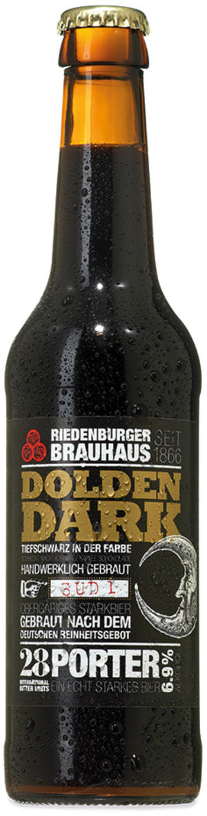 "Birra scura porter ""dolden dark"", Riedenburger, 330 ml"