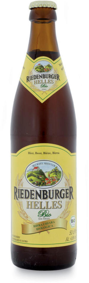 Birra helles chiara, Riedenburger, 500 ml