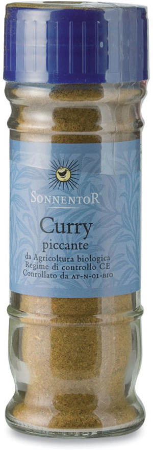 Curry piccante in vaso, Sonnentor, 40 gr