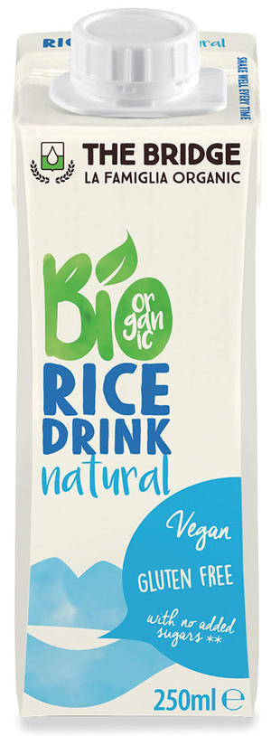 Bio rice drink naturale, The bridge, 250 ml