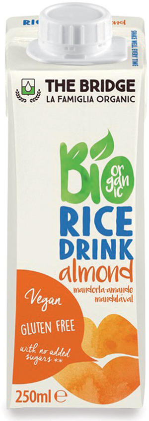 Bio rice drink mandorla, The bridge, 250 ml