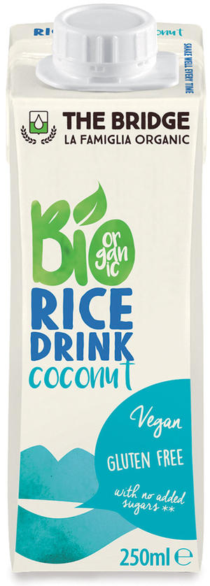 Bio rice drink cocco, The bridge, 250 ml