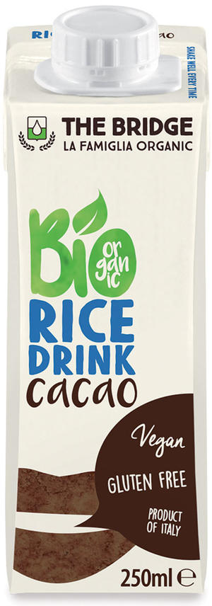 Bio rice drink cacao, The bridge, 250 ml
