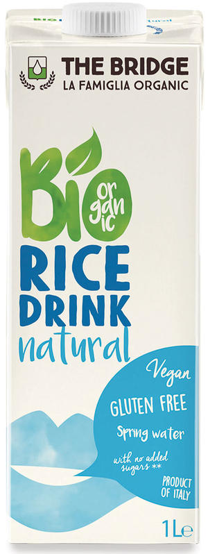 Bio rice drink naturale, The bridge, 1 L
