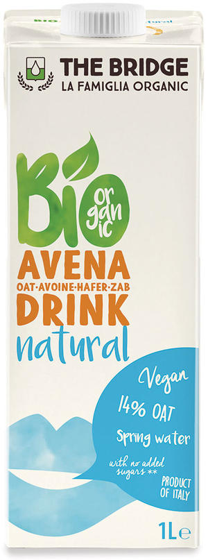 Bio avena drink, The bridge, 1 L