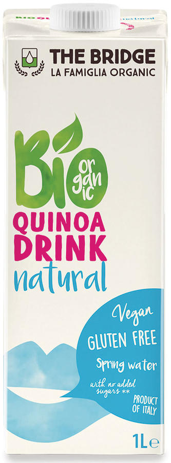 Bio quinoa e riso drink, The bridge, 1 L