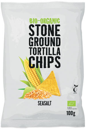 Bio tortillas chips - naturel, Tra'fo, 100 gr