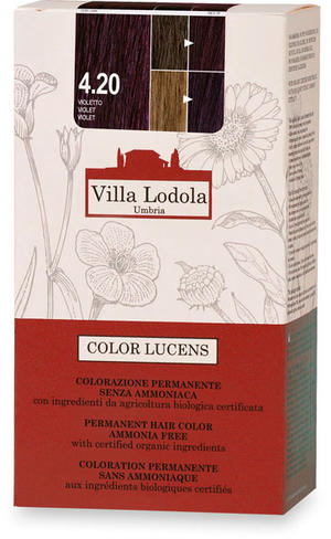 Tinta color lucens 4.20 - violetto, Villa lodola, 135 ml