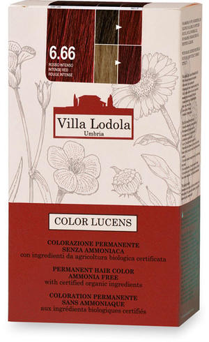 Tinta color lucens 6.66 - rosso intenso, Villa lodola, 135 ml