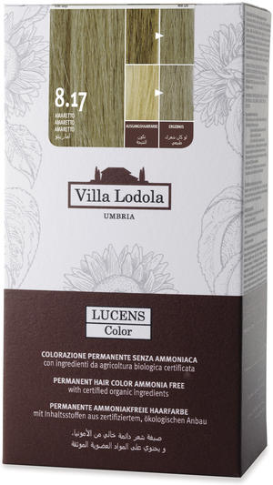 Tinta color lucens 8.17 - amaretto, Villa lodola, 135 ml