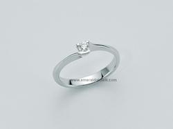 LID2155 006 Anello Miluna Solitario con Diamante -