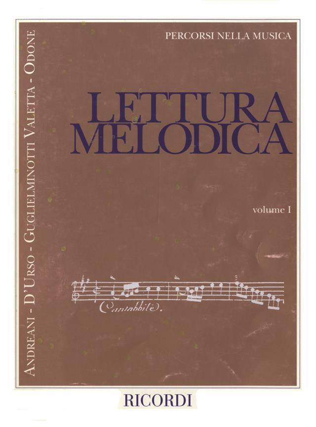 Percorsi nella musica - Lettura Melodica