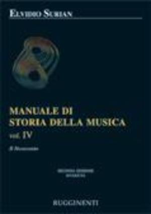Surian - Manuale Di Storia Della Musica Vol. 4