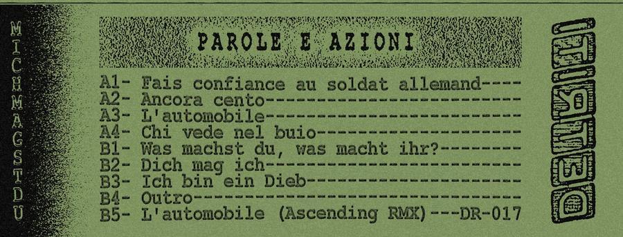 Parole e azioni - Fais confiance au soldat allemand