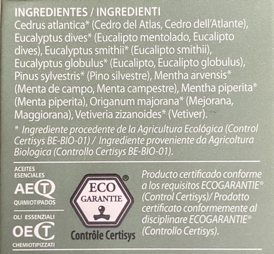 Miscela di oli essenziali purificanti ed igienizzanti per ambienti
