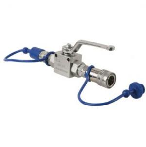 SHOWTEC - CO2 Q-LOCK SHUT-OFF VALVE