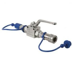 SHOWTEC - CO2 Q-LOCK SHUT-OFF VALVE