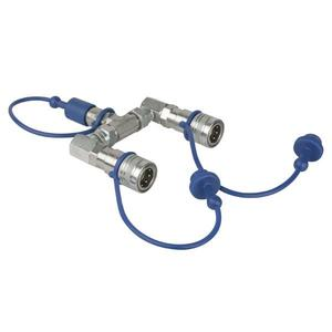 SHOWTEC - CO2 3/8 Q-LOCK 2-WAY SPLITTER
