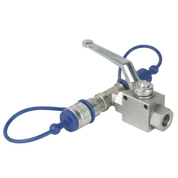 SHOWTEC - CO2 3/8 Q-LOCK RELEASE VALVE