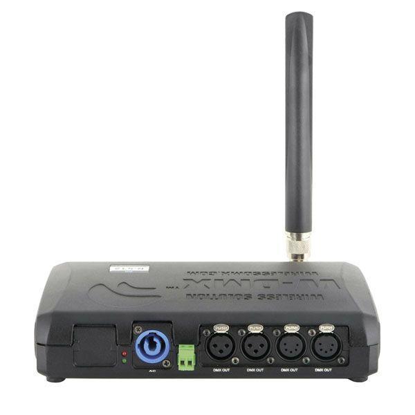 WIRELESS SOLUTIONS - W-DMX™ BLACKBOX R-512 G5 RECEIVER