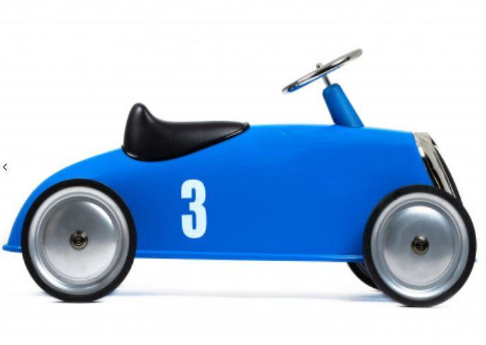 """Cavalcabile in Metallo """"Blu"""" per Bambini della Linea I Riders di Baghera 844"""