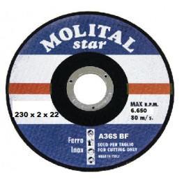 Disco da sbavo per ferro ø mm 115x6,0