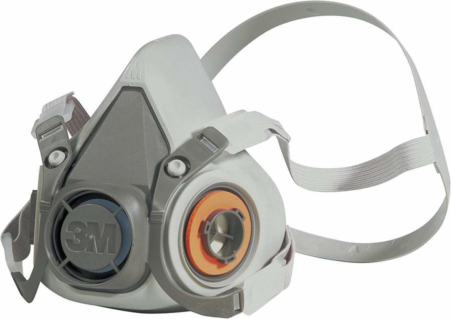 Mascherina riutilizzabile respiratore a semimaschera 3M 6000 6000S senza filtro Taglia dim S