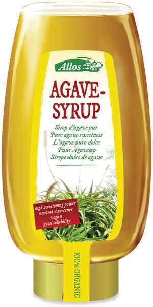 Sciroppo d'agave, Allos, 500 ml