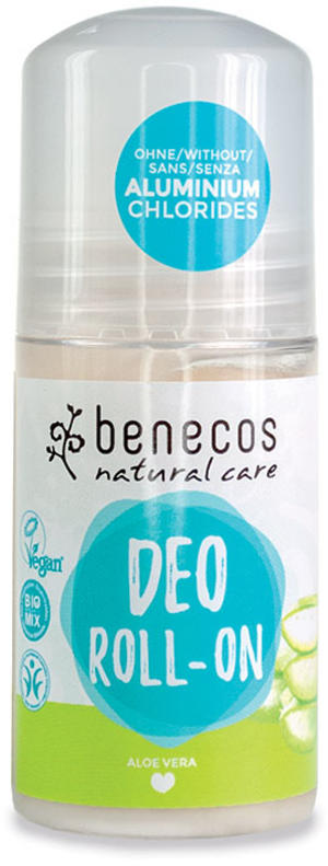 Deo roll-on aloe vera, Benecos, 50 ml