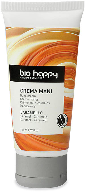 Crema mani caramello, Bio happy, 50 ml