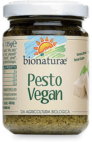 Pesto vegan, Bionaturae, 135 gr