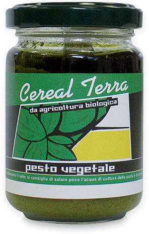 Pesto vegetale, Cereal terra, 120 gr