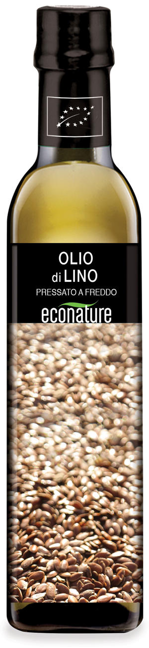 Olio di lino, Eco nature, 250 ml