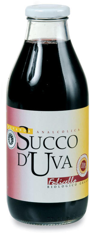 Succo d'uva rossa, Folicello, 750 ml