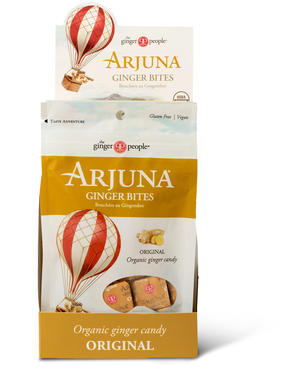 Arjuna bitescaramelle allo zenzero, Ginger party, 48 gr