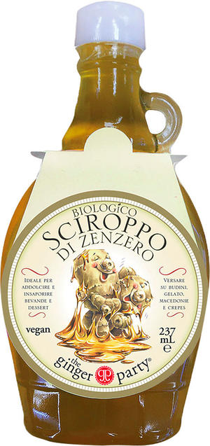 Sciroppo di zenzero, Ginger party, 237 ml