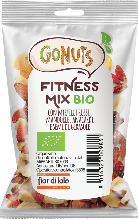 Fitness mix, Gonuts, 25 gr
